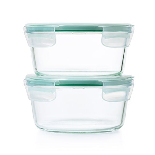 OXO Good Grips 7 Cup Smart Seal Glass Round Food Storage Container