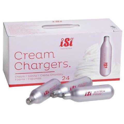 iSi North America N2O Cream Chargers, 24-Pack