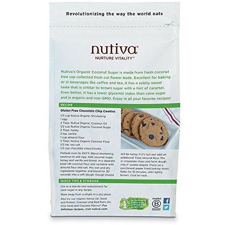 Nutiva Organic Coconut Sugar, Unrefined, 1 Pound
