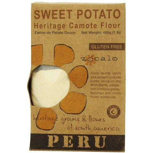 Zócalo Peru Sweet Potato Flour, 16 Ounce