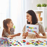 Gamenote Classroom Magnetic Alphabet Letters Kit 234 Pcs with Double - Side Magnet Board - Foam Alphabet Letters for Preschool Kids Toddler Spelling and Learning