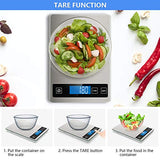 Nicewell Food Scale, 22lb Digital Kitchen Scale Weight Grams and ounces for Cooking Baking