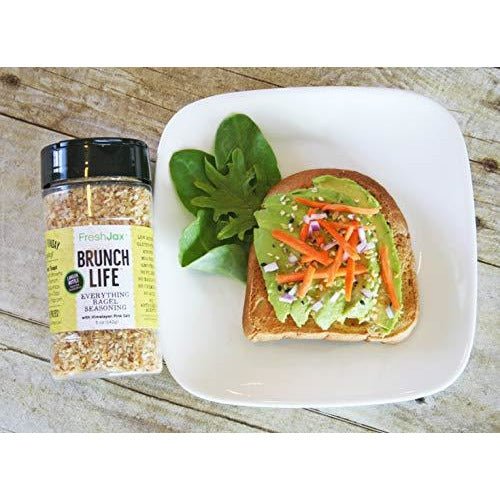 FreshJax Premium Gourmet Organic Spice Blends (Brunch Life: Organic Everything Bagel Seasoning)