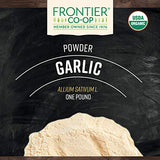 Frontier Co-op Garlic Powder, Certified Organic, Kosher | 1 lb. Bulk Bag | Allium sativum L.
