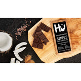 Hu Vegan Chocolate Bars | 4 Pack Simple Chocolate | Gluten Free, Paleo, Non GMO, Kosher Dark Chocolate | 2.1oz Each