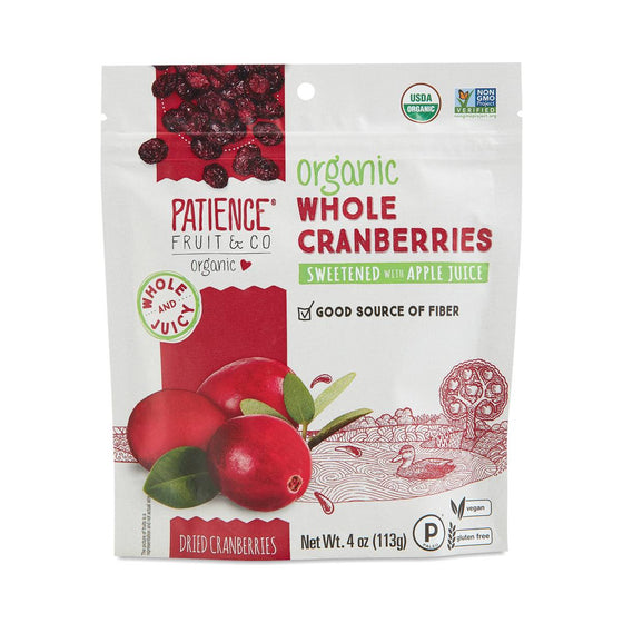 Organic Dried Whole Cranberries