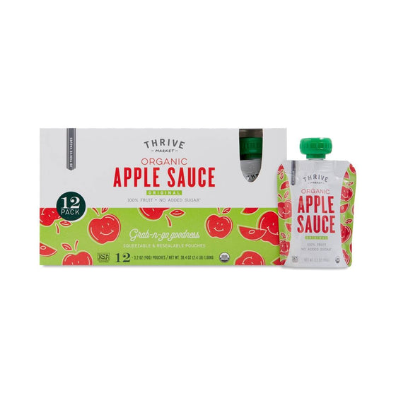 Organic Apple Sauce Pouches