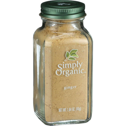 Simply Organic Ginger Root Ground Certified Organic, 1.64 Ounce Container