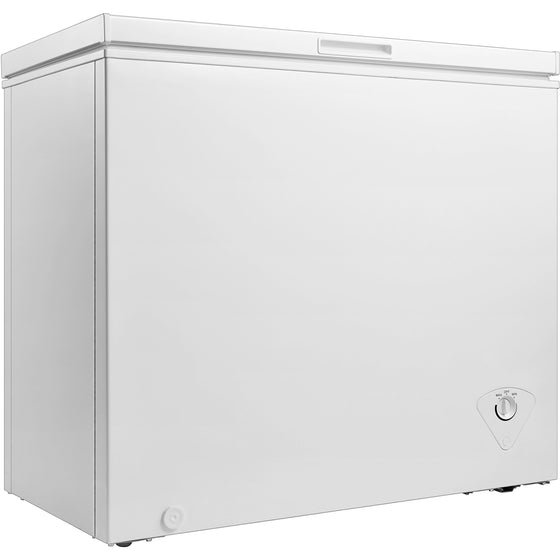 Midea WHS-258C1 Single Door Chest Freezer, 7.0 Cubic Feet, White