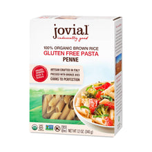 Jovial's Organic Brown Rice Penne Rigate