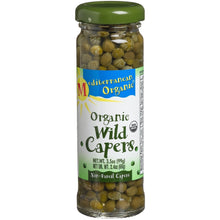 Mediterranean Organic Wild Non-Pareil Organic Capers, 3.5-Ounce Jars (Pack of 6)