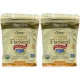 Spectrum Essentials Organic Ground Essential Flaxseed 14 oz. (Pack of 2)