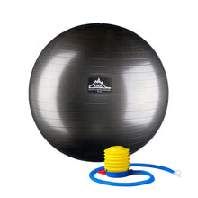 Black Mountain Products Professional Grade Stability Ball, Black, 85cm