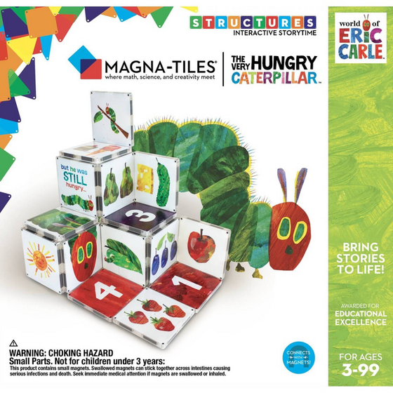 Magna-Tiles Eric Carle Very Hungry Caterpillar