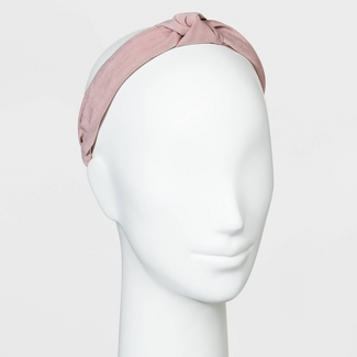 Soft Suede Fabric Knot Headband - Universal Thread™