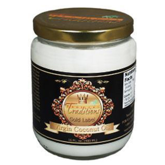 Virgin Coconut Oil - Gold Label - 1 Pint