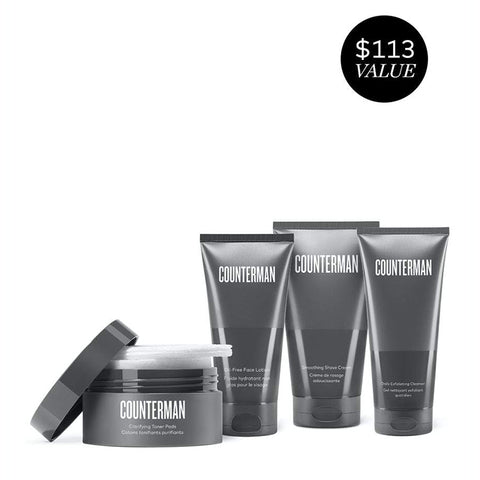 Counterman Shave Regimen