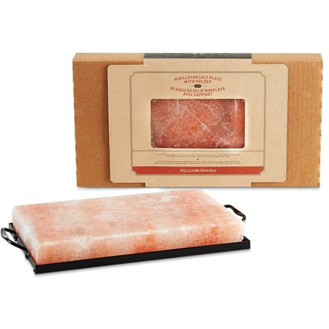 Himalayan Salt Plate with Holder