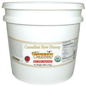 Raw Wild Canadian Honey - 15 lb. Pail