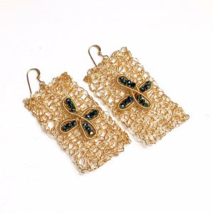 Flat Bread Earrings