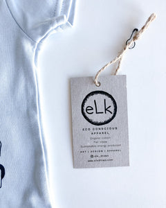 elk draws eco conscious apparel baby