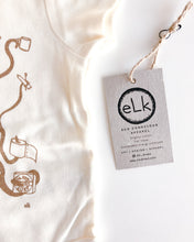 Load image into Gallery viewer, elk draws eco conscious apparel baby