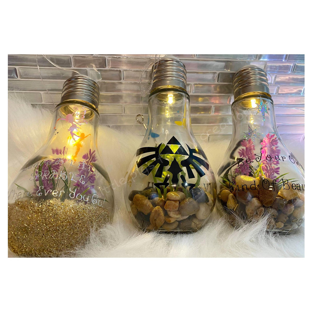 Indoor/Outdoor Terrarium Fairy Lights
