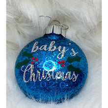 Load image into Gallery viewer, Baby's First Christmas Ornaments