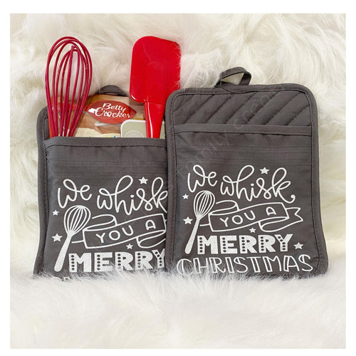 Christmas Baking Gift Pouch