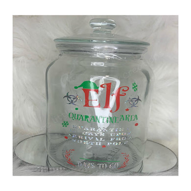 Elf Quarantine Jar