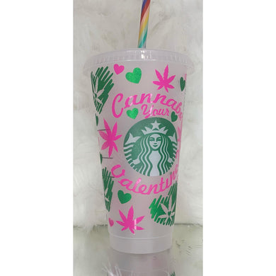 V-day 24oz Starbucks & Colour Changing cups