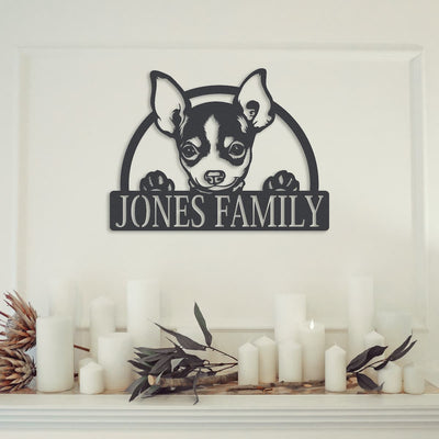 DOG FAMILY MONOGRAM