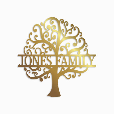 FAMILY TOGETHER TREE MONOGRAM