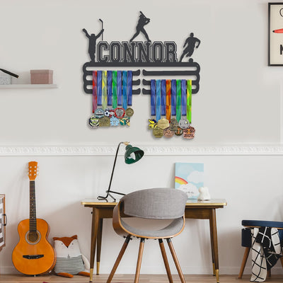 Three Sport Medal Hanger - Boy