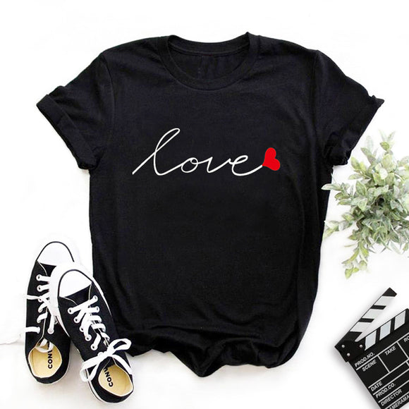 LOVE Black Tee Shirt ❤