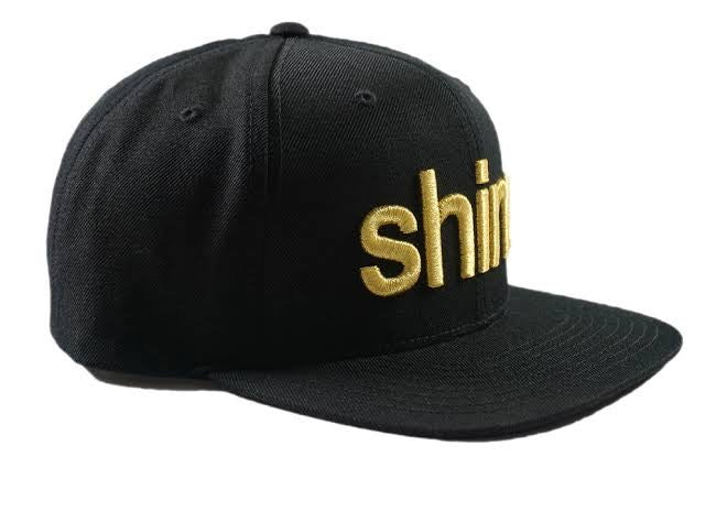 Shine® Gold Gang Snap Back