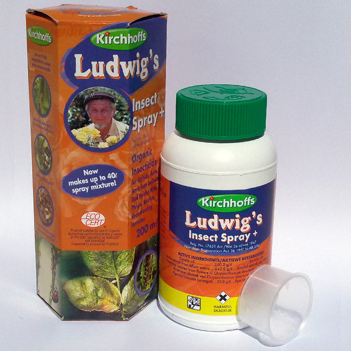 Ludwigs Organic Insecticide 200ml
