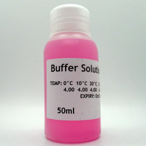 PH 4 Buffer Solution 50ml