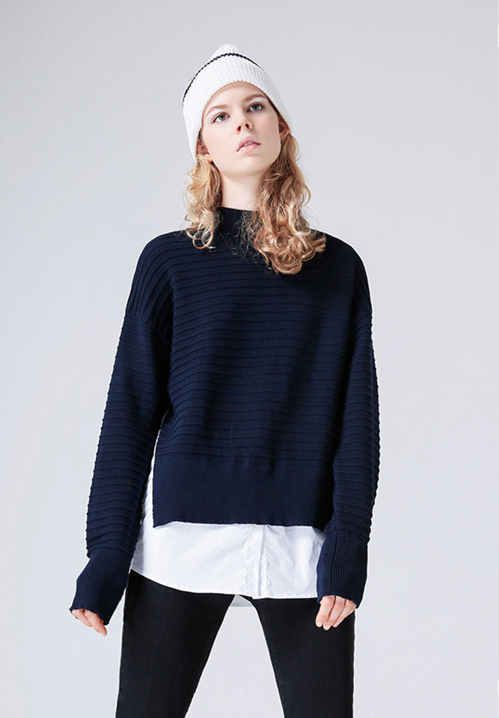 Double Layer Sweater Loziy