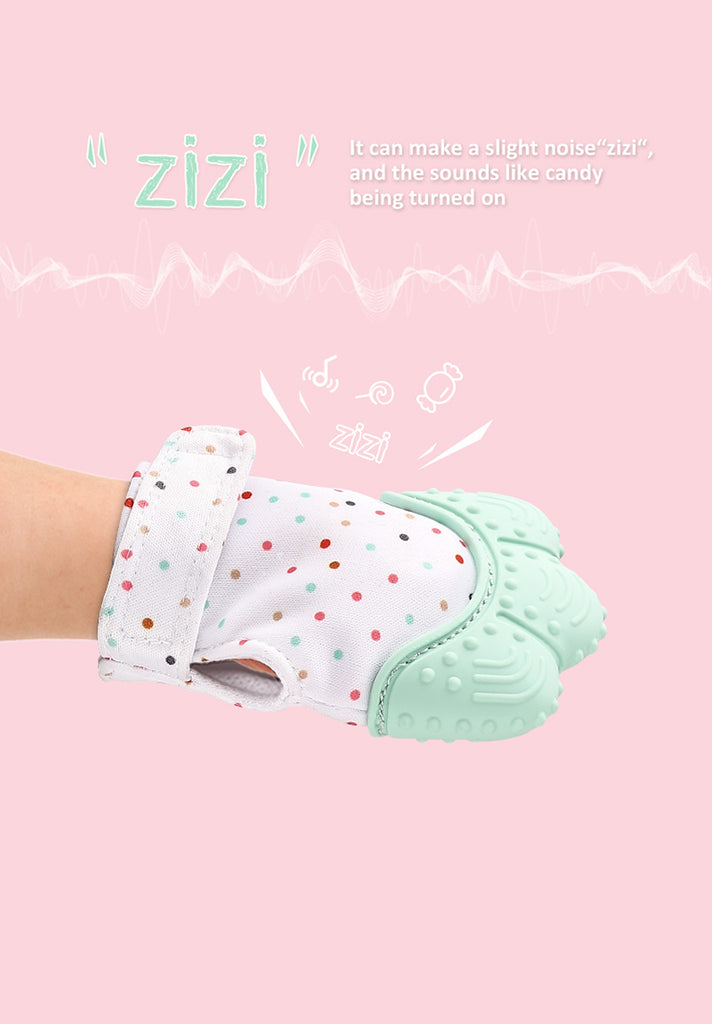 Baby Teething Mitten Gloves Loziy
