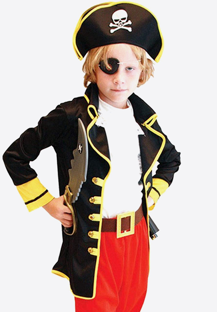 Kid's Captain Pirate Costume