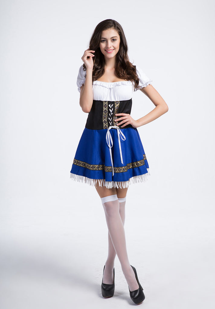 Bavarian Bar Maid Costume