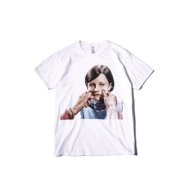 Pinched Face Print Tee