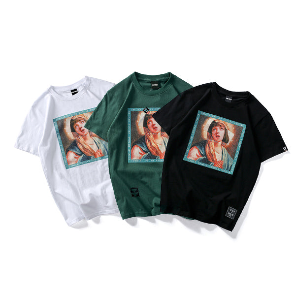 Virgin-Mary-Graphic-Print-Tee
