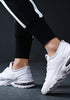 Casual Mesh Fabric Lace Up  Sneakers - Loziy.com