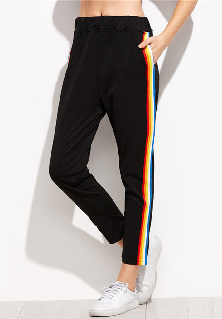 Rainbow-Side-Stripe-Pants