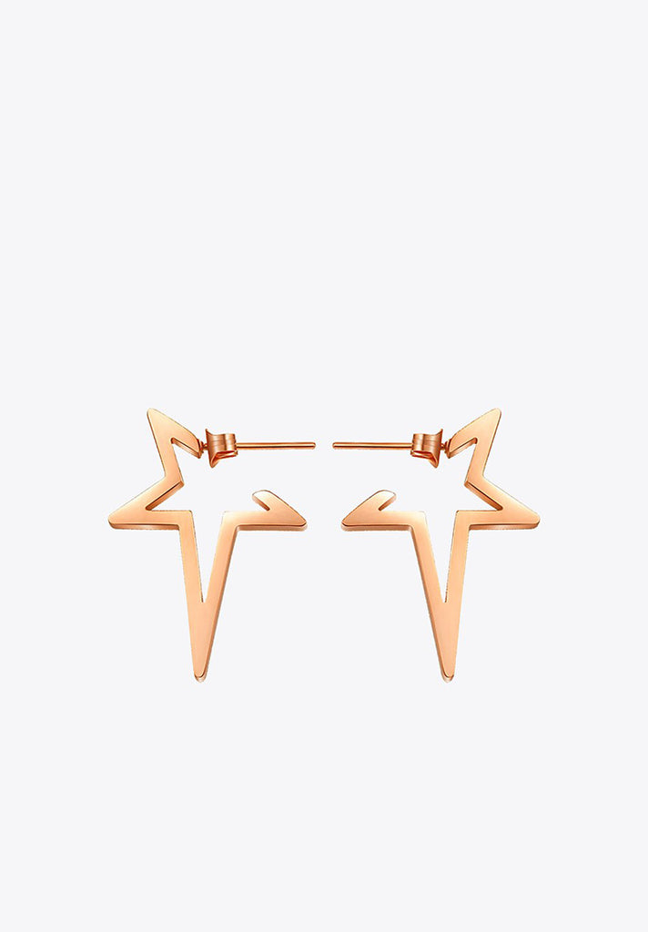 Punk-Star-Earrings