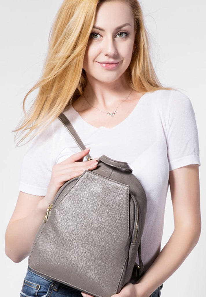 Leather Vice Pocket Backpack - Loziy.com