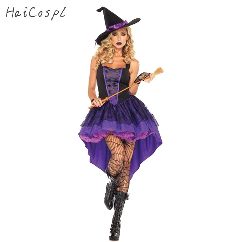 Plus Size Pretty Gothic Witch Costume