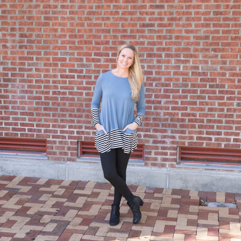 Flowy Long Sleeves with Pockets